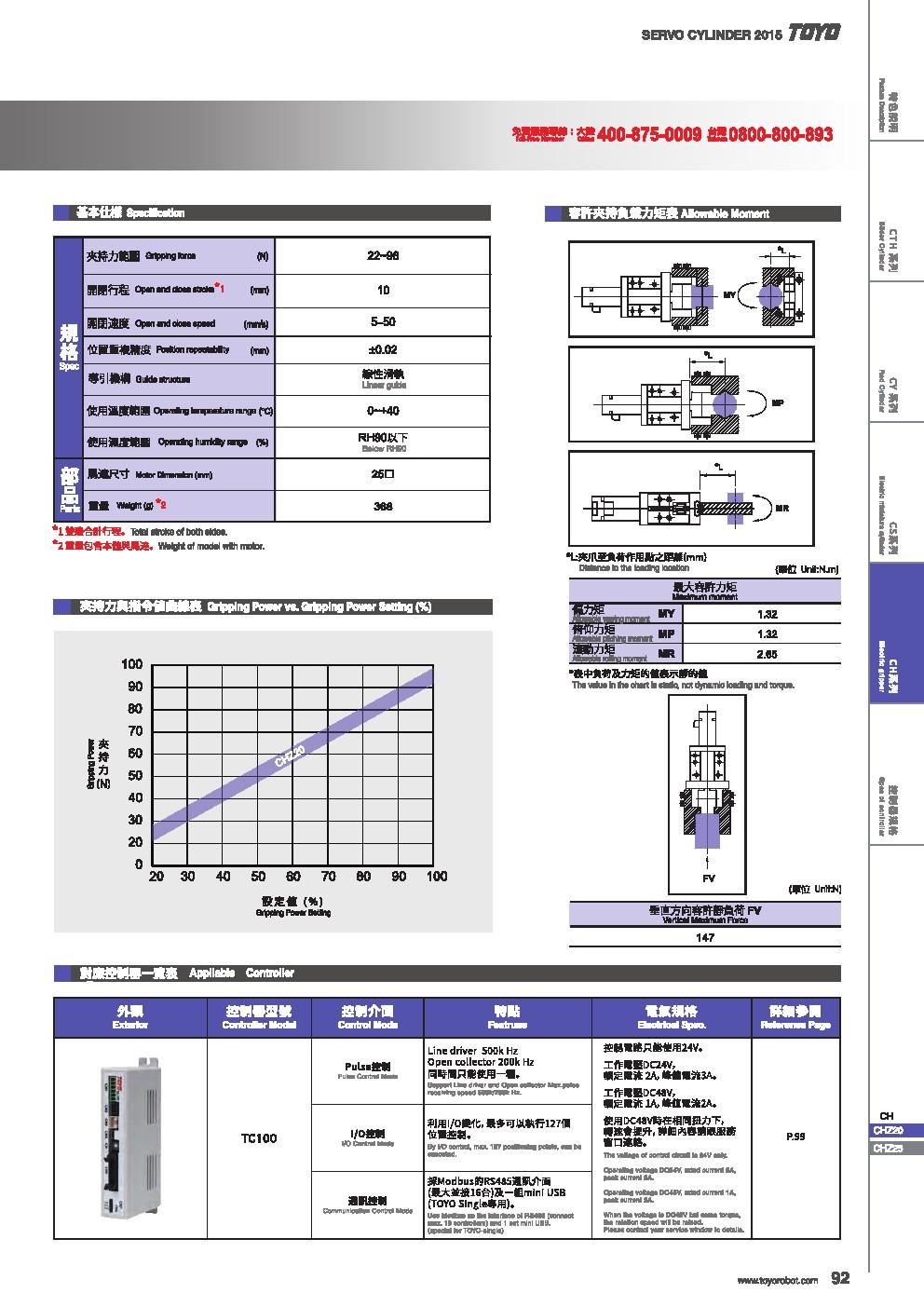 TOYO滑台|东佑达|单轴手臂|电动夹爪|电动推杆|官网